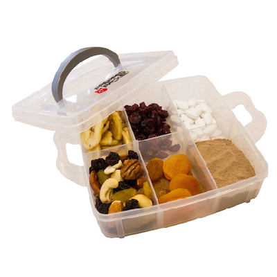 Multi Section Supplement Container