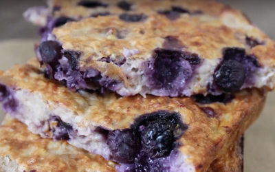 Bye-bye Boring // Hello Very Berry Breakfast Bake