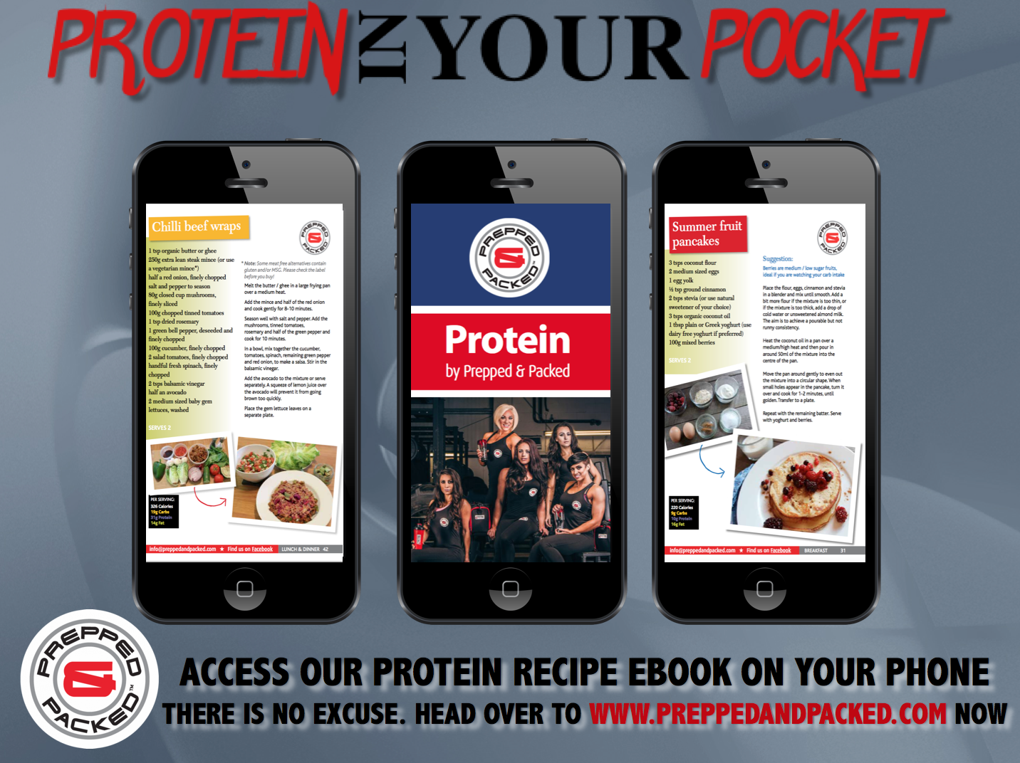 Protein in your Pocket