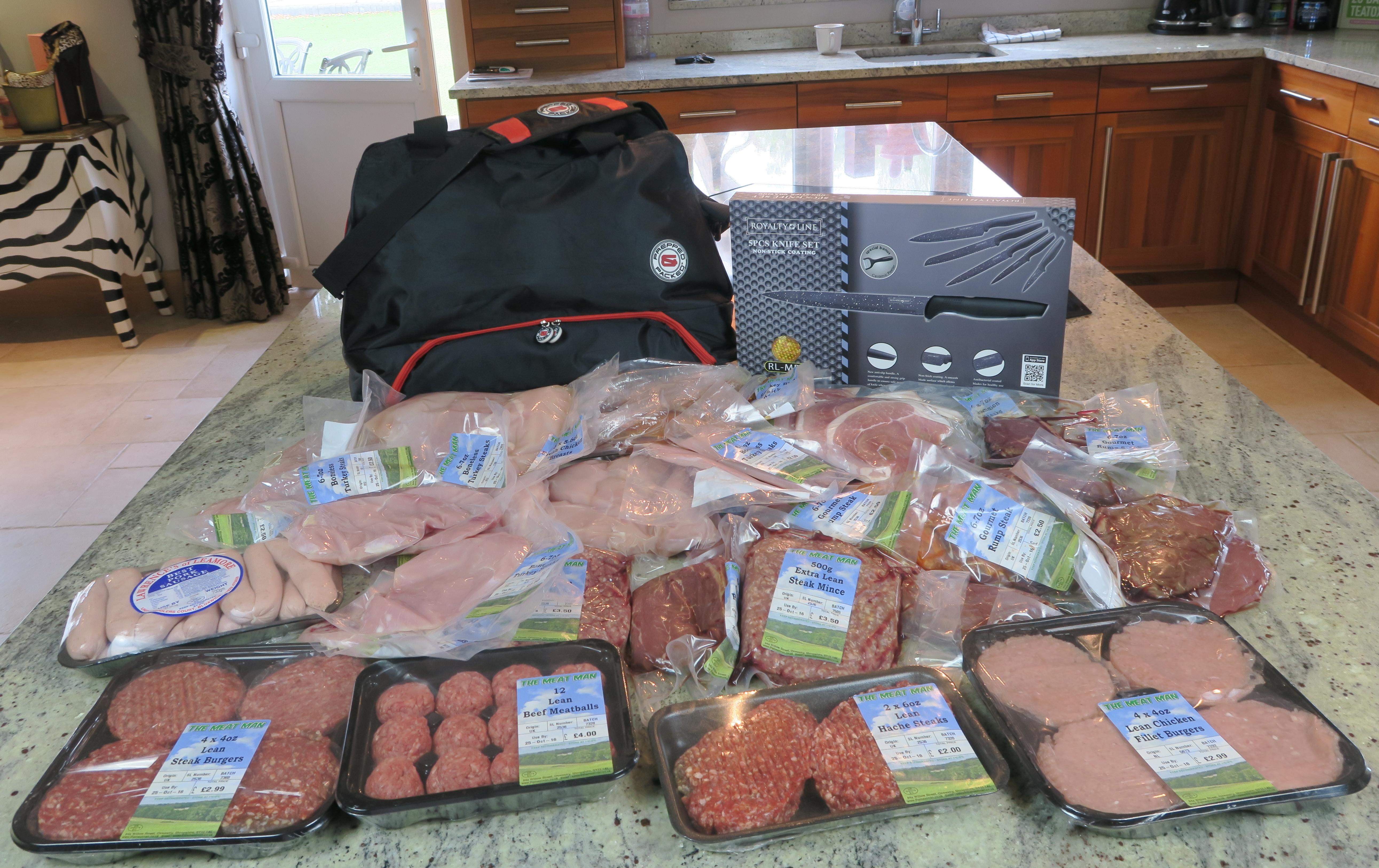 Prepped & Packed Meal Prep Hamper