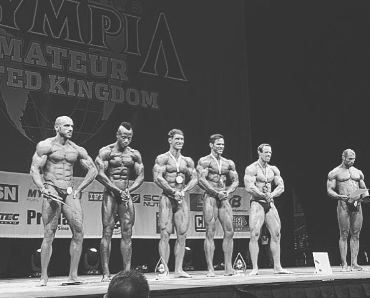 The IFBB bodybuilding stage is just days away for Zack
