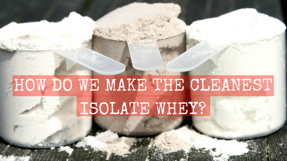 Prepped & Packed create the cleanest labeled isolate whey