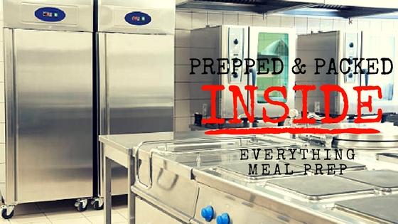 Behind the scenes – Nationwide Meal Prep
