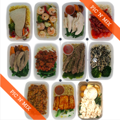 pic n mix meal prep hamper