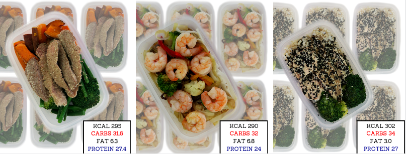 Low calorie food delivery / Meals to door
